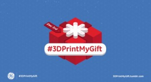 3D Printing Day – GE Proclaims Dec. 3rd as 3D Printing Day – 3D Printed Gifts for Christmas
