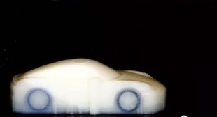 Video of 3D Printing a Porsche – Free Porsche Designs for 3D Printers