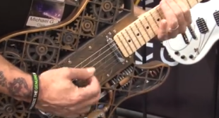 3D Printed Guitar at Music Show in LA – 3D Printing Comes to Rock N' Roll