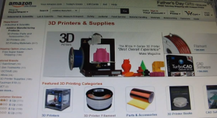 Amazon Now in the 3D Printing Market – New 3D Printing Storefront Announced