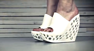 3D Printed High Heel Shoes – Custom Heels Made by 3D Printer Technology