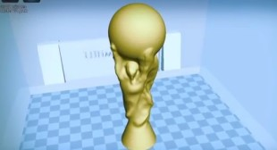 Now You Can 3D Print Your Own World Cup Trophy