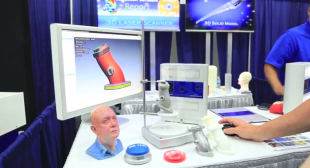 3D Printing Trade Show Video About NextEngine's 3D Scanners