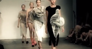 3D Printing Fashion –  Stratasys Prints Fashion With Noa Raviv