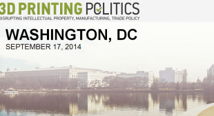3D Printing Politics to Debut in Washington, D.C., on September 17 – Get 10% OFF