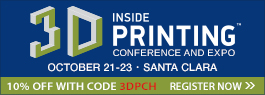 Inside 3D Printing is Returning to California Next Month! – Get 10% OFF