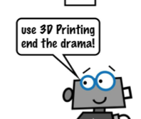 3D Printing Channel Presents A Fun 3D Printing Comic Book Video