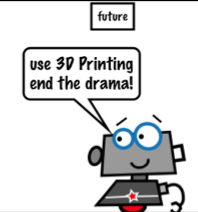 3D Printing Channel Presents A Fun 3D Printing Comic Book Video