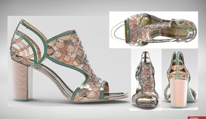 3D Printed Shoe Designer Contest Winner Chosen
