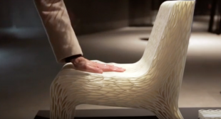 3D Printing Dutch Designed Chair – Fun With 3D Printing Technology!