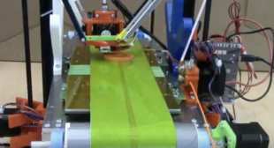 3D Printing Video Shows 3D Printer Automatically Ejecting Parts