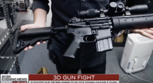 3D Printed Guns Online – And States Are Suing